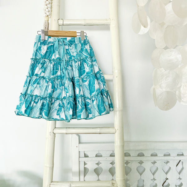 SALE 20% off Luna Skirt Aqua