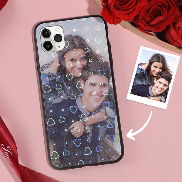 Custom Aurora Of Love iPhone Case