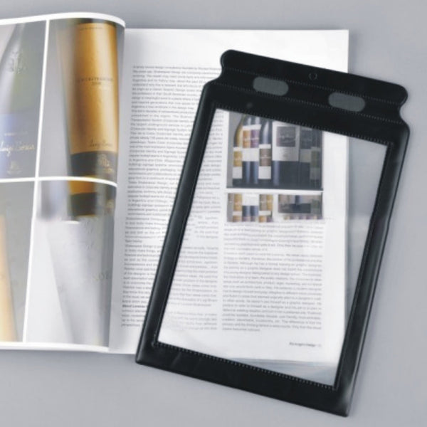 3X (300%) Page Magnifying Lens for Reading Small Prints, Low Vision Aids