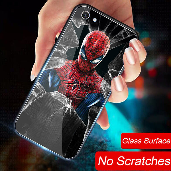 Super Hero iPhone Case - Glass Surface