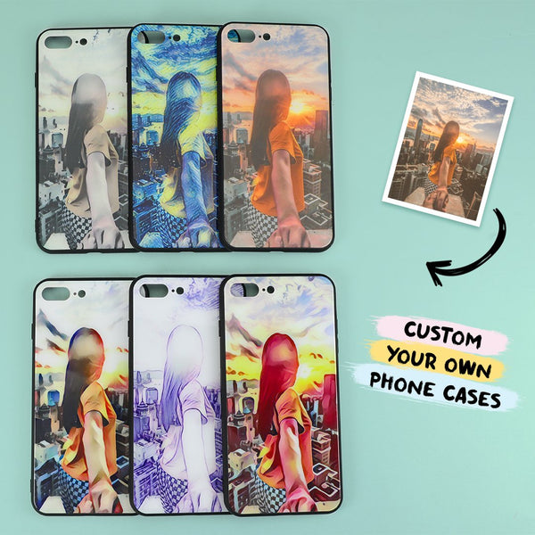 Buy 2 Get 1 Free - Custom iPhone Case With Filter