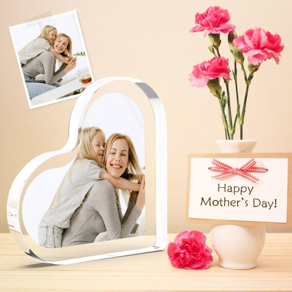 Personalized Acrylic Photo gift - Photo Block Print Gift for Mom