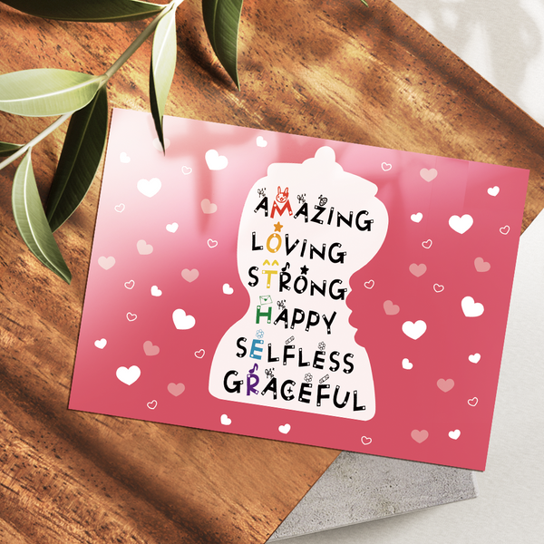 Mother's Day Gifts Greeting Cards Amazing Mom Love Gifts