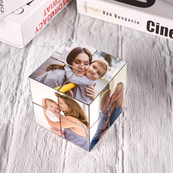 Custom Photo Rubik's Cube For Kids DIY Multiphoto Cube 3 Sets of Sticker