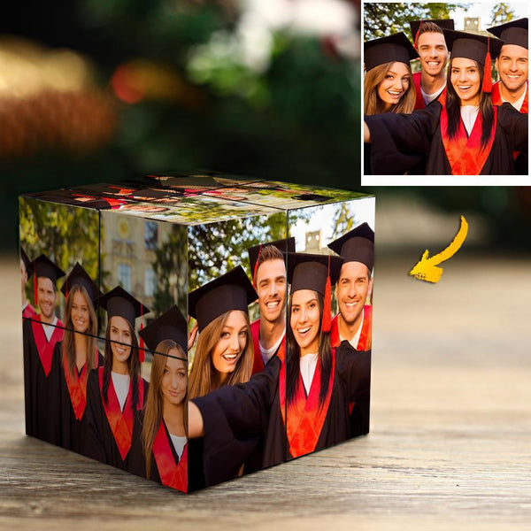 DIY Graduation Gifts Custom Photo Rubik's Cube Senior Year Multiphoto Rubic's Cube