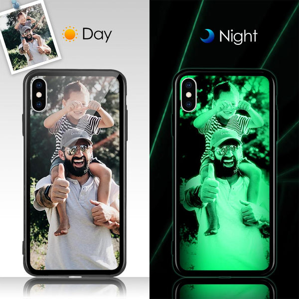 iPhone X/Xs - Custom Night Lights iPhone Case