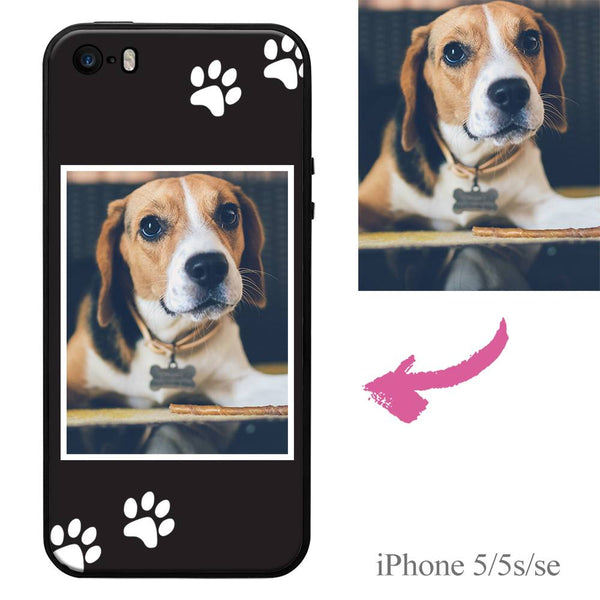 iPhone5/5s/se Custom Dog Photo Protective Phone Case