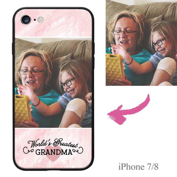 iPhone7/8 Custom Grandma Photo Protective Phone Case