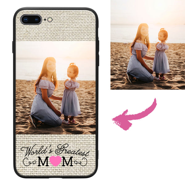 all iphones custom mom photo protective phone case