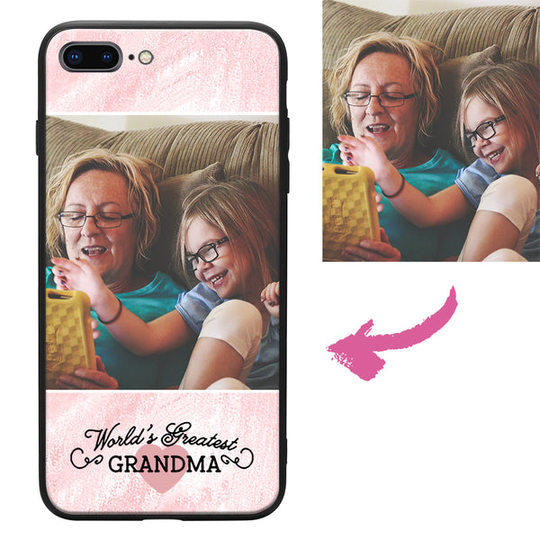 all iphones custom grandma photo protective phone case
