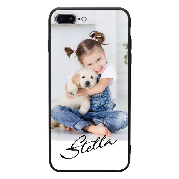 custom iphone case brushed name
