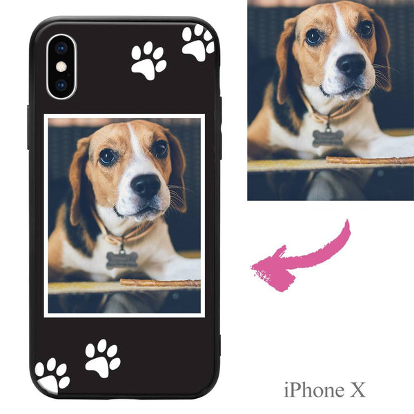 iPhoneX Custom Dog Photo Protective Phone Case