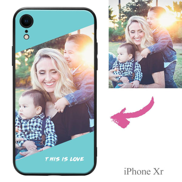 "iPhoneXr Custom ""This Is Love"" Photo Protective Phone Case"
