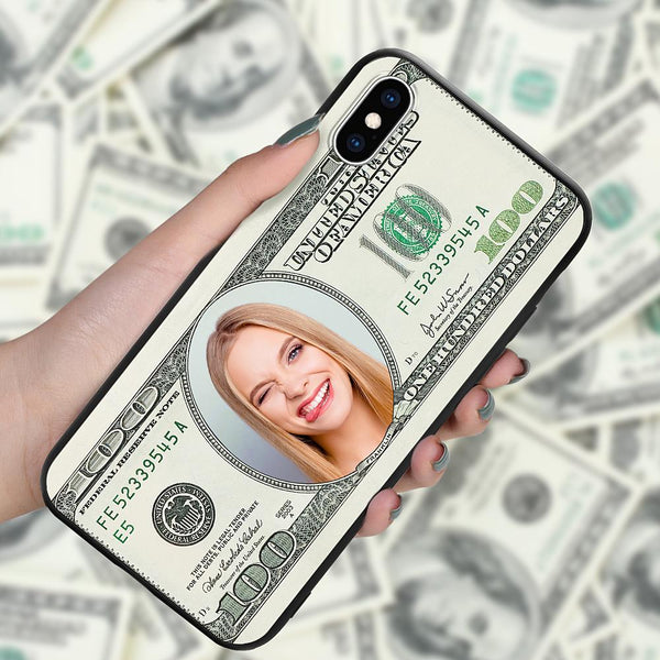 iphonexs custom hundred dollar phone case
