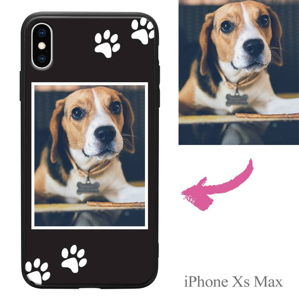 iPhoneXs Max Custom Dog Photo Protective Phone Case