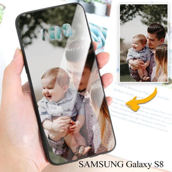 Samsung Galaxy S8 Custom Photo Protective Phone Case - Glass Surface