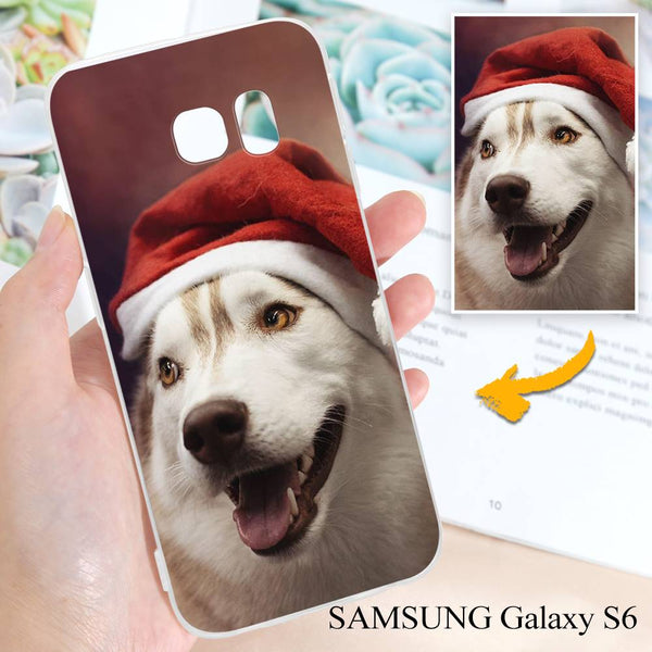 Samsung Galaxy S6 Custom Photo Protective Phone Case