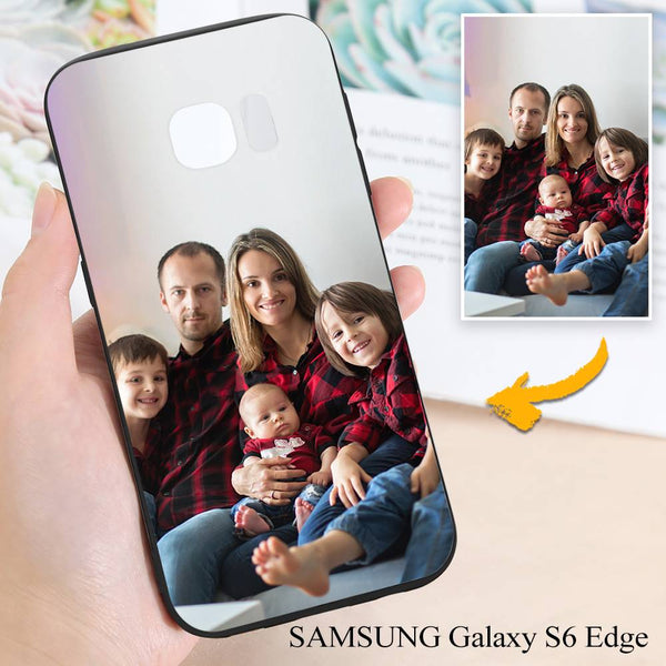 Samsung Galaxy S6 Edge Custom Family Photo Protective Phone Case