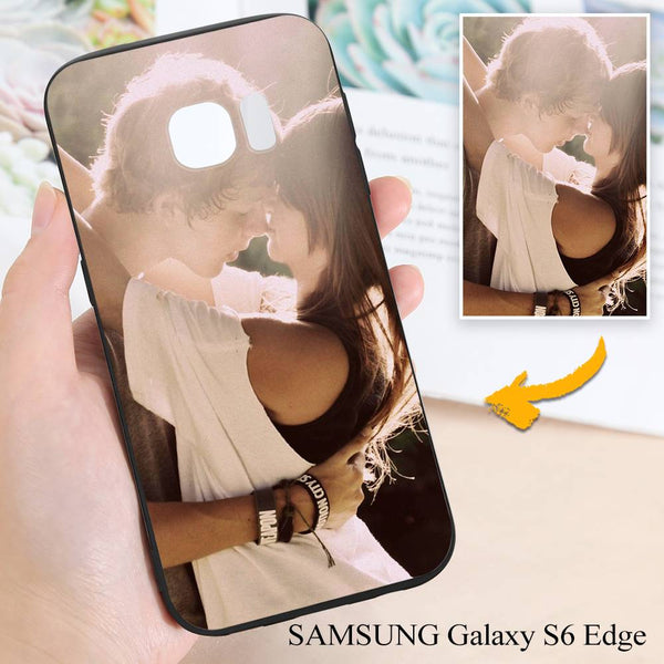 Samsung Galaxy S6 Edge Custom Love Photo Protective Phone Case