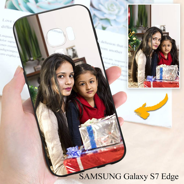 Samsung Galaxy S7 Edge Custom Family Photo Protective Phone Case