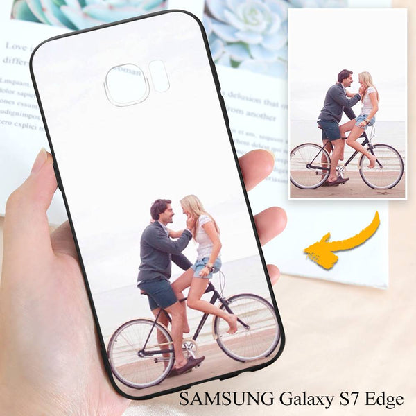 Samsung Galaxy S7 Edge Custom Love Photo Protective Phone Case