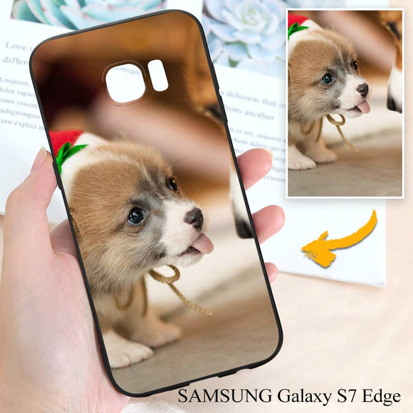 Samsung Galaxy S7 Edge Custom Dogs & Pets Photo Protective Phone Case