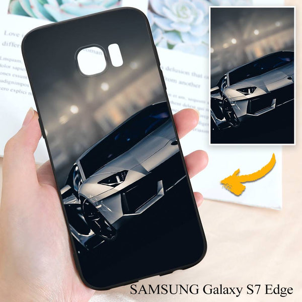 Samsung Galaxy S7 Edge Custom Cars Photo Protective Phone Case