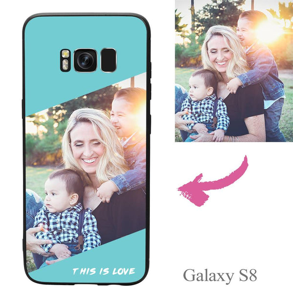 Galaxy S8 Custom This Is Love Photo Protective Phone Case
