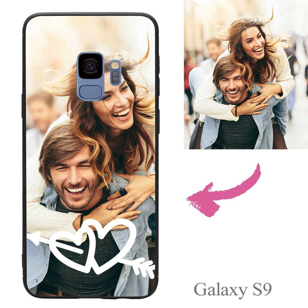 Galaxy S9 Custom Love Photo Protective Phone Case