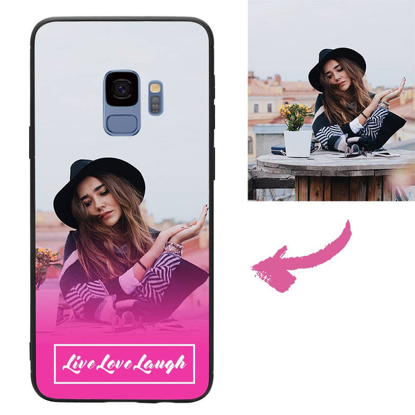 Custom Live Love Laugh Samsung Galaxy Case