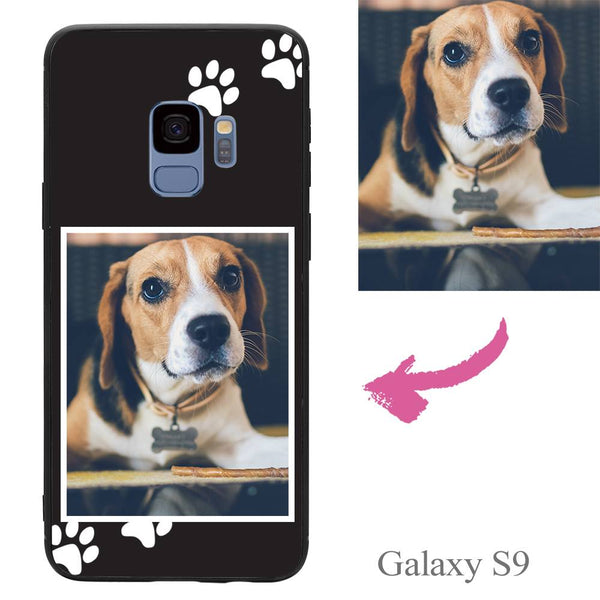 Galaxy S9 Custom Dog Photo Protective Phone Case