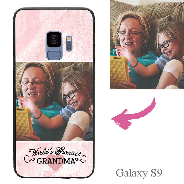Galaxy S9 Custom Grandma Photo Protective Phone Case
