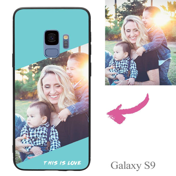 Galaxy S9 Custom This Is Love Photo Protective Phone Case