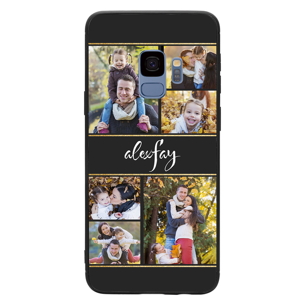 Custom 6-Photo Collage Samsung Case - with Name