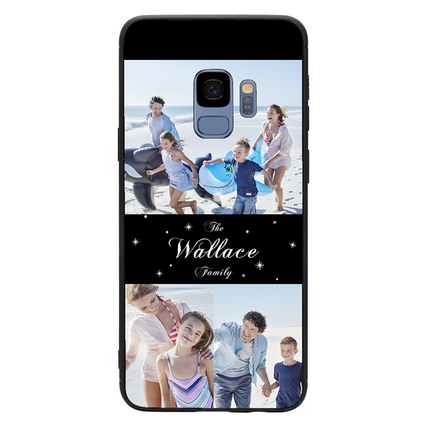 Custom 3-Photo Collage Samsung Galaxy Case - Family