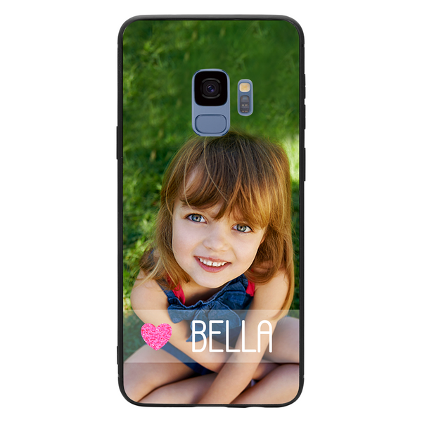Custom Name Samsung Galaxy Case - Pink Love