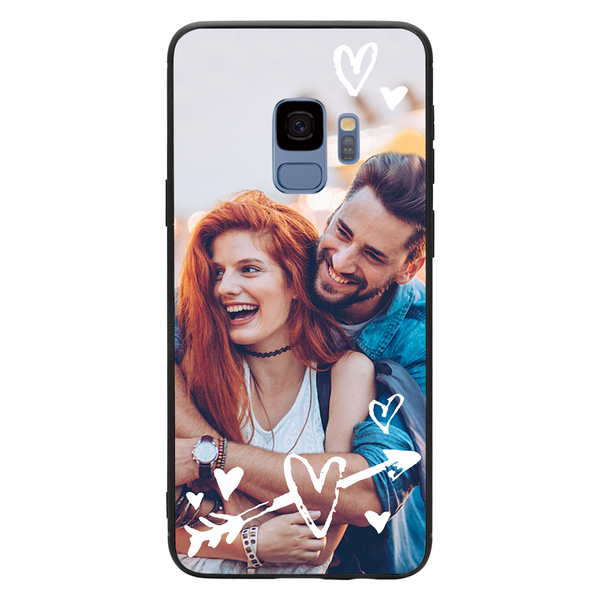 Custom Arrow & Hearts Samsung Galaxy Case