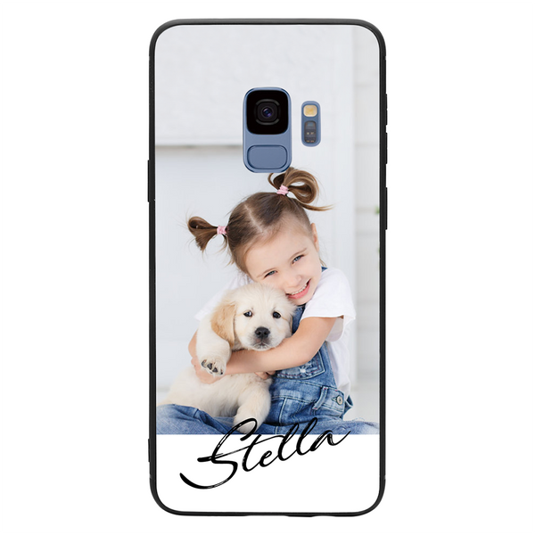 Custom Samsung Galaxy Case - Brushed Name
