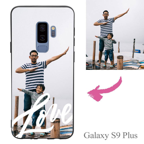 Galaxy S9 Plus Custom Love Photo Protective Phone Case