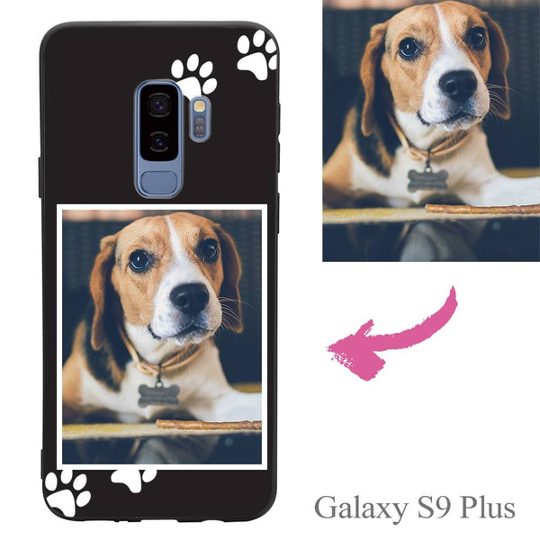 Galaxy S9 Plus Custom Dog Photo Protective Phone Case