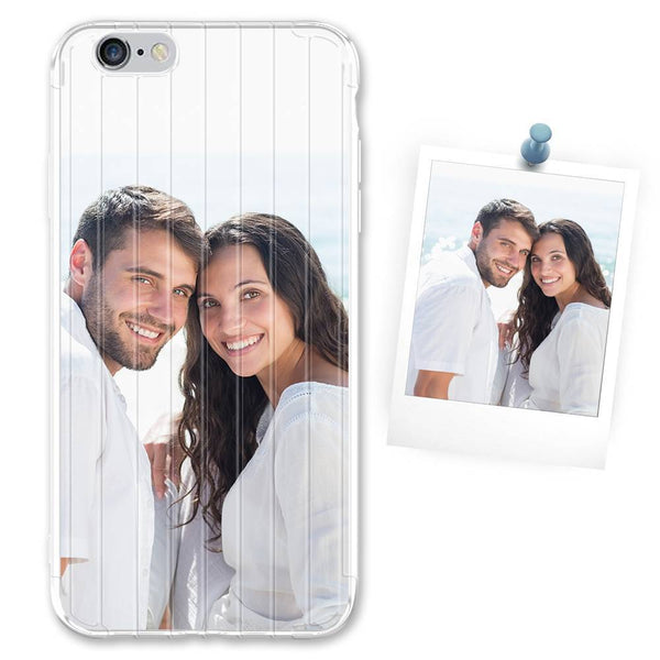 Custom White Suitcase iPhone Case