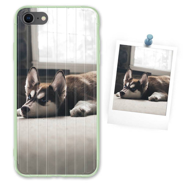 Custom Green Suitcase iPhone Case