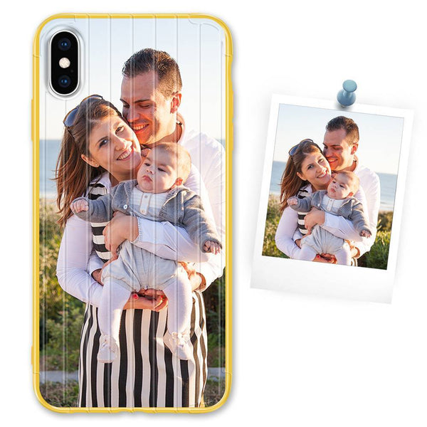 Custom Yellow Suitcase iPhone Case