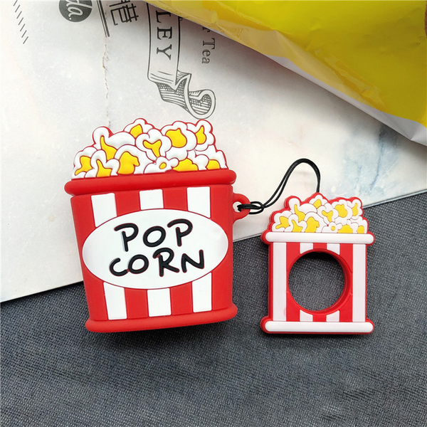 Popcorn Air Pods Case