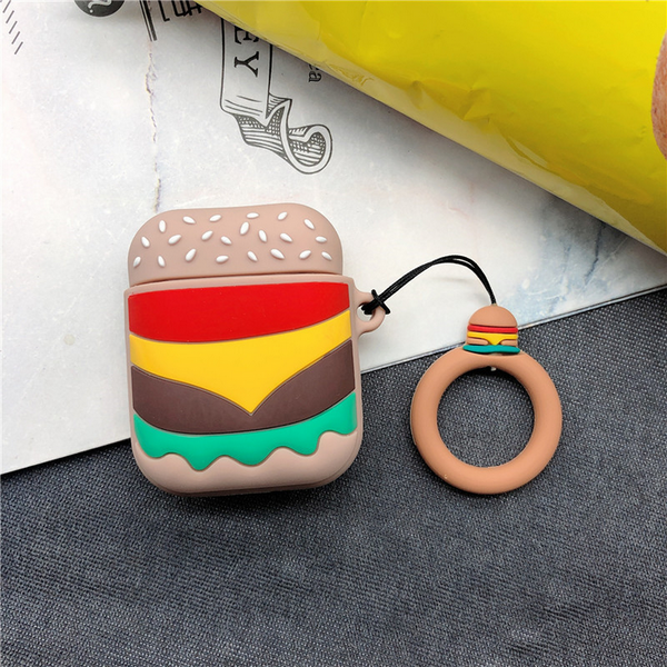 Hamburger Air Pods Case