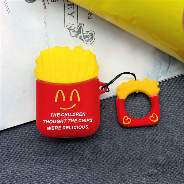 Smiley Fries Air Pods Case