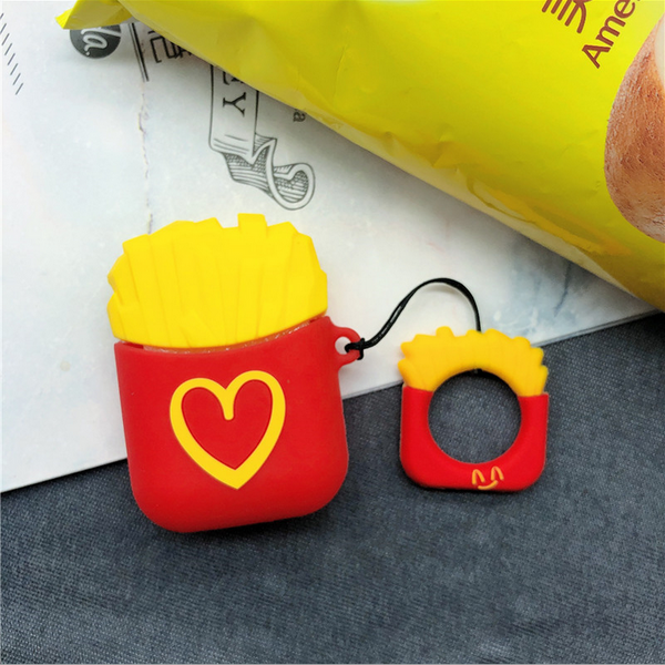 Heart Fries Air Pods Case