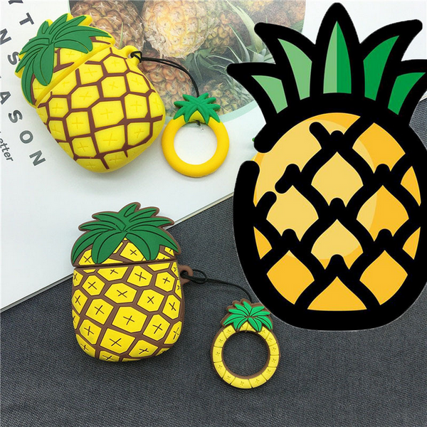 Pineapple Air Pods Case