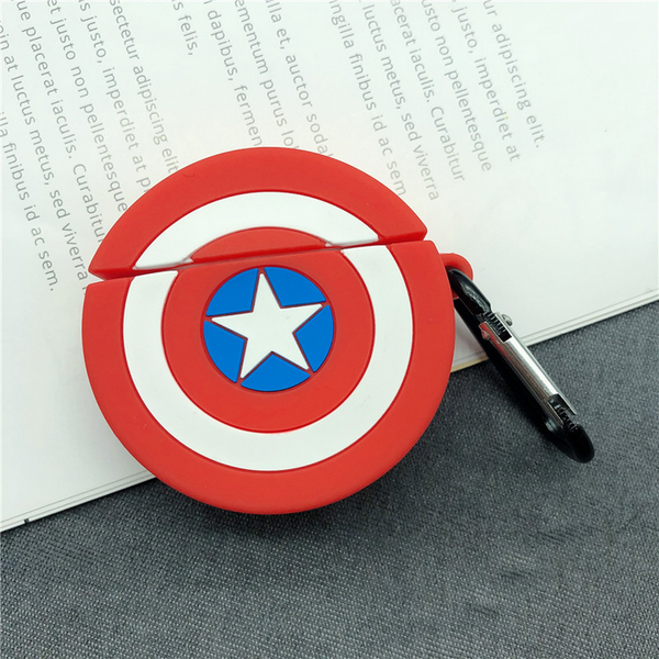 Captain America's Shield Air Pods Case