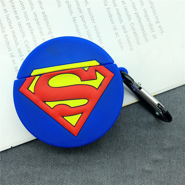 Superman Logo Air Pods Case
